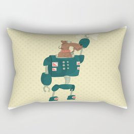Airedale Robopuppy Rectangular Pillow