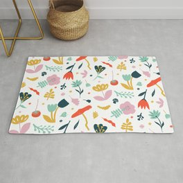 Flowers all over Rug
