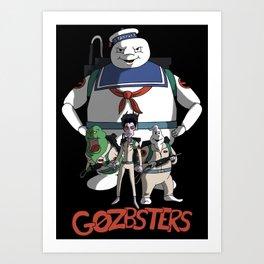 Gozbusters Art Print