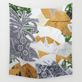 Tropical Toile Wall Tapestry