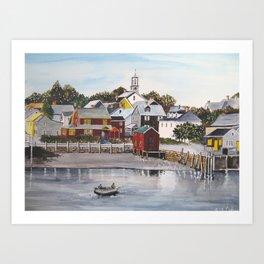 Portsmouth Harbour Art Print