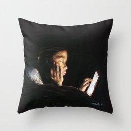 Portrait of Tara Throw Pillow