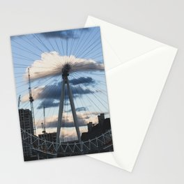 London Sky through the London Eye Stationery Cards