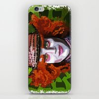 mad hatter iPhone & iPod Skins featuring Mad Hatter by grapeloverarts