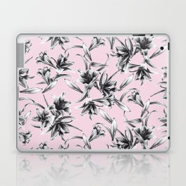 Lilium Pattern in rose Laptop & iPad Skin