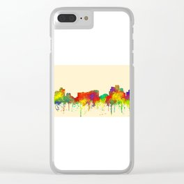 Reno, Nevada Skyline - SG Clear iPhone Case