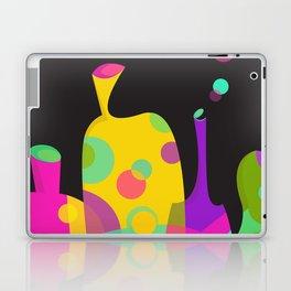 Colorful Funky Bottle Shapes II Laptop & iPad Skin