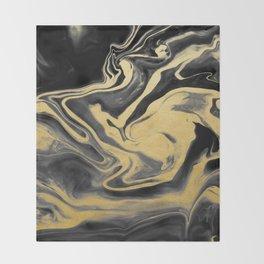 Qi Xi Marble III Throw Blanket