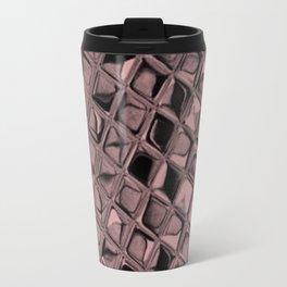 Metallic Bridal Rose Travel Mug