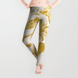 Golden pineapple Leggings