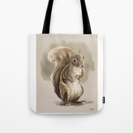 Squirrel unknown Tote Bag