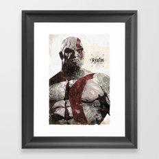 God Of War Framed Art Print