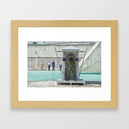 Commémoration Framed Art Print