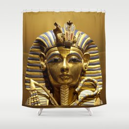 Egypt King Tut Shower Curtain