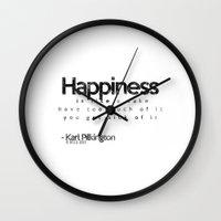 karl Wall Clocks featuring Karl Pilkington by Adel