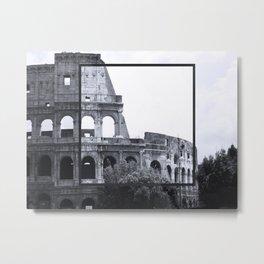 Roman Colosseum Italy Metal Print