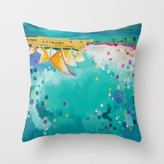 Downunder Throw Pillow