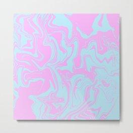 Random abstract instruction Metal Print