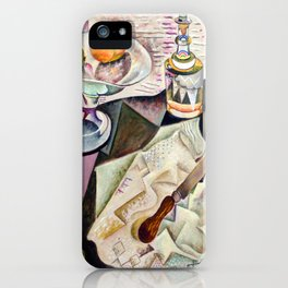 Joan Miro Spanish Playing Cards iPhone Case