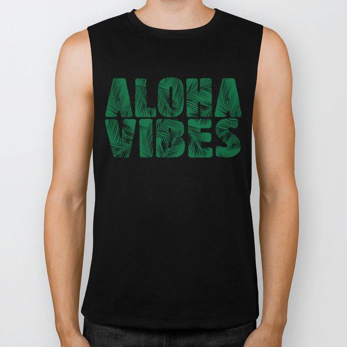 Aloha Vibes Biker Tank