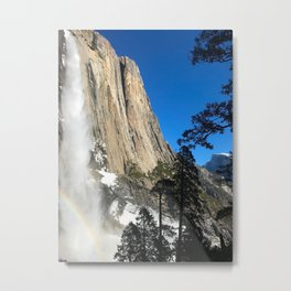 Winter in Yosemite Metal Print
