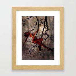 Once Wild Framed Art Print