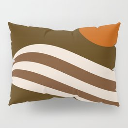 Swell - Cocoa Stripes Pillow Sham