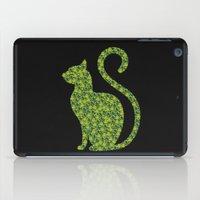 gem iPad Cases featuring Gem Cat by Alisa Galitsyna