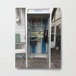 Phone Booth Jimmy Metal Print