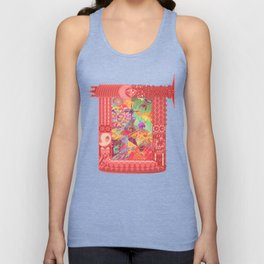 4th and a Half Dimension Unisex Tank Top