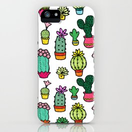Cactus Collection iPhone Case