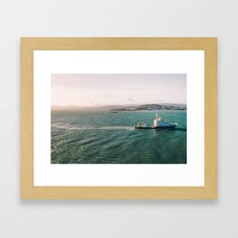 ILV Granuaile Framed Art Print