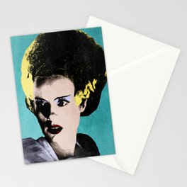 The Beautiful Bride of Frankenstein Stationery Cards