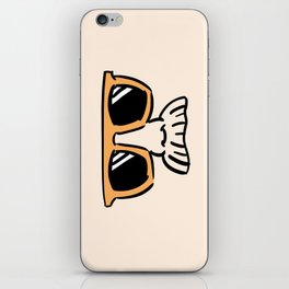 Too Cool (yellow orange) iPhone Skin