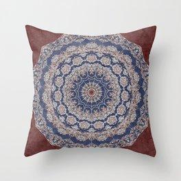 A Glorious Morning (Mandala) Throw Pillow