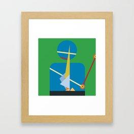 One: See Framed Art Print