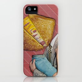 Grilled Cheese Love No. 28 iPhone Case