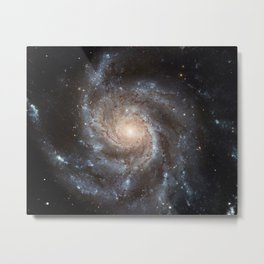 Spiral Galaxy (M101) Metal Print