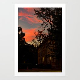 Old East at Sunset Art Print