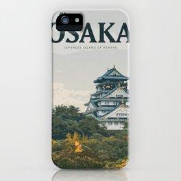 Visit Osaka iPhone Case