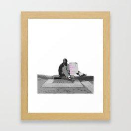 Dignity Framed Art Print