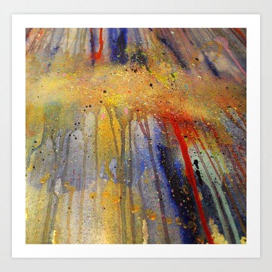 Splash 001 Art Print