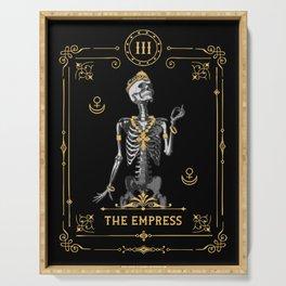 The Empress III Tarot Card Serving Tray