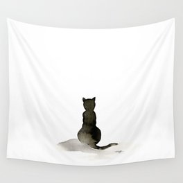 I Love Cats No. 2 by Kathy Morton Stanion Wall Tapestry