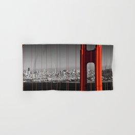 Golden Gate Bridge | Panoramic Downtown View Hand & Bath Towel