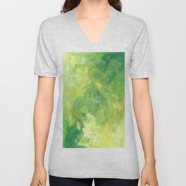 Green and Glow Unisex V-Neck