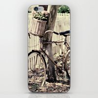 bike iPhone & iPod Skins featuring bike  by Beverly LeFevre