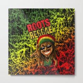 Roots Reggae Metal Print