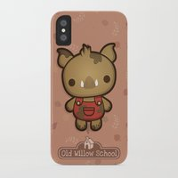 randy c iPhone & iPod Cases featuring Randy the Dirty Boar by Squid&Pig