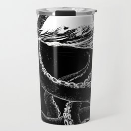 Kraken Rules the Sea Travel Mug